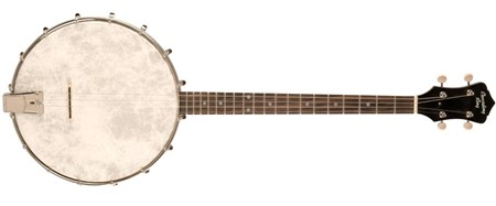 Recording King Dirty 30s 4 String Open Back Tenor Banjo