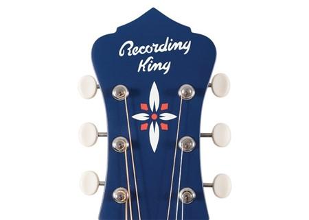 Recording King ROC-9-MBL, Wabash Blue- Image 2