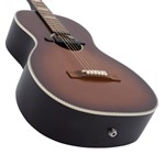 Recording King RPS-7-E Parlour Guitar with Soundhole Pickup- Image 3