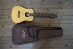 Recording King Eztone RD-A3MQ Mini-Dreadnought Acoustic Guitar, B-Stock Repaired- Image 3