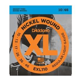 D'addario EXL110 Nickel Wound Electric Strings 10-46