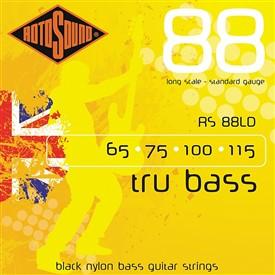 Rotosound RS88LD Black Nylon Bass Strings 65-115
