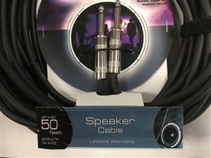 On Stage Sp14-50 Speaker Cable 50ft