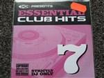Dmc- Essential Club Hits Vol 7 CD- Image 1
