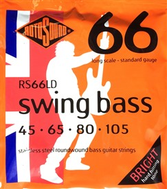 Rotosound Swing Bass 66 45-105 RS66LD