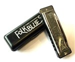 Tombo 1610G Folk Blues Harmonica, G- Image 1
