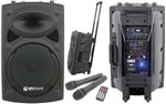 Qtx Qr15pa Portable Pa System With Radiomics- Image 1