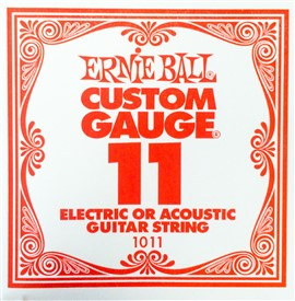 Ernie Ball .011 Plain Single String