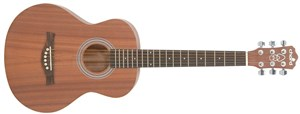 Chord Acoustic Guitar Sapele 3/4 Travel Guitar CSC35