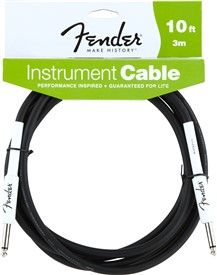 Fender FG10 Performance Series Instrument Cable 3m/10ft