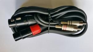 Roni, Lead 2 XLR Female - Phono Plugs 3m Gl26