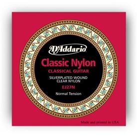 D'Addario EJ27N Classical Nylon Guitar Strings Normal Tension