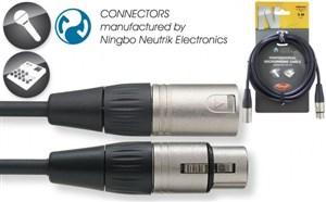 Stagg XLRF-XLRM Mic Lead NMC3R