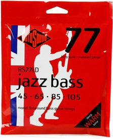 Rotosound RS77LD Jazz Bass 45-105 Flatwound Strings
