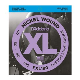 D'addario EXL190 40-100 Bass Strings