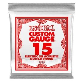 Ernie Ball .015 Plain Single String