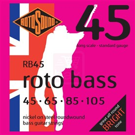 Rotosound Rotobass 45-105 RB45 Bass Strings