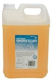 Qtx High Grade Smoke / Fog Fluid 5 Litre, Orange - Image 1