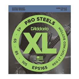 D'addario EPS165 Prosteel Bass Strings 45-105