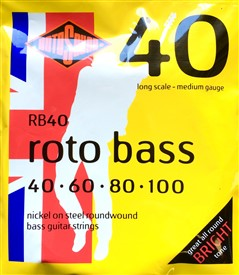 Rotosound Rotobass 40-100 Bass Strings Rb40