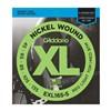 D'addario Exl165-5 Regular Light Top/Med Bottom 5 String Bass Strings- Image 1