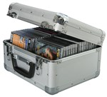 Qtx, Cd40 Case, Holds 40 Cd's- Image 1