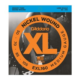 D'addario EXL160 50-105 Bass Strings