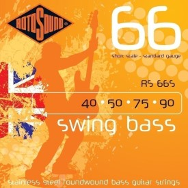 Rotosound Swing Bass 66 Short Scale Rs66s