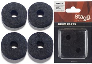 Stagg Cymbal Felt (4 Pack) SPRF1-4