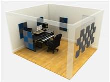 EQ Acoustics Classic Wedge Foam Tile 30cm Grey Pack Of 16- Image 2