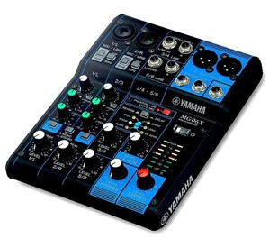 Yamaha MG06 X Mixer With SPX Effects- Image 2