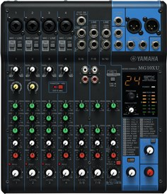 Yamaha MG10XU Audio Mixer With SPX Effects