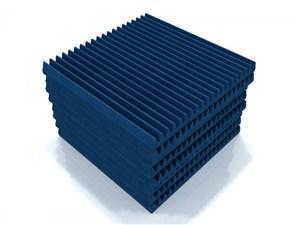 EQ Acoustics Tiles Classic Wedge 60cm Pack Of 8