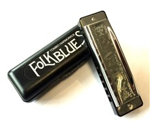 Tombo 1610 Folk Blues Harmonica, F