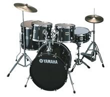 "Yamaha Gigmaker Drum Kit, Black Glitter,20"" Fusion"