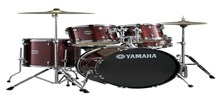 "Yamaha Gigmaker Drum Kit, Burgundy Glitter,20"" Fusion"