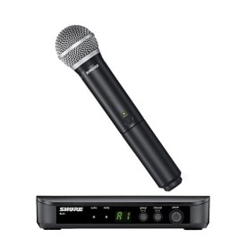 Shure BLX24UK/PG58 Handheld Wireless Radiomic