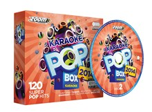 CDG - Zoom Karaoke Pop Box 2014 - 120 Pop Hits - 6 Disc CD+G Set- Image 1