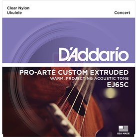 D'Addario EJ65C Pro-Arte Custom Extruded Ukulele Strings