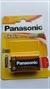 Panasonic 9V PP3 Alkaline Battery, 6LF22- Image 1