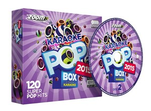 CDG - Zoom Karaoke Pop Box 2015 - 112 Pop Hits - 6 Disc CD+G Set