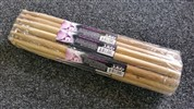 On Stage Drumfire 5b Hickory Hw5b, Brick Of 12 Pairs,Wood Tip
