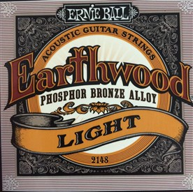 Ernie Ball Earthwood Phosphor Bronze Acoustic Strings 11-52 2148