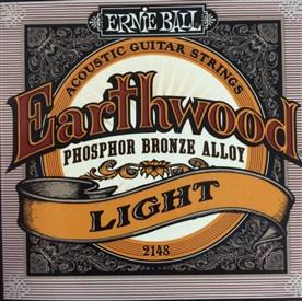 Ernie Ball Earthwood Phosphor Bronze Acoustic Strings 11-52 2148