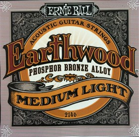 Ernie Ball Earthwood Phosphor Bronze Acoustic Strings 12-54 2146