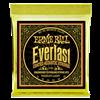 Ernie Ball Everlast 80/20 Coated Acoustic Strings 12-54 2556, Med Light- Image 1