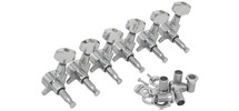 Chord Set Of 6 In Line Tuners, Chrome