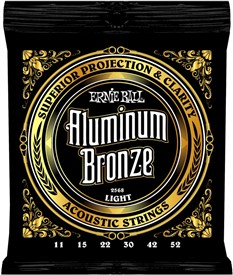 Ernie Ball Aluminum Bronze 11-52 2568