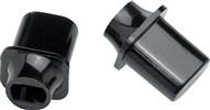 Fender Original Telecaster Top Hat Switch Tip, Black, Pair- Image 1