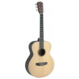James Neligan ASY-ALH Mini Travel Guitar Lefthanded